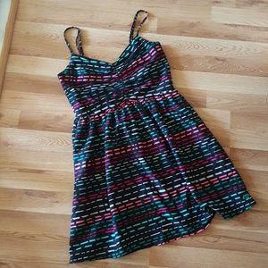 Roxy fun multicolor striped dress Wmns sm